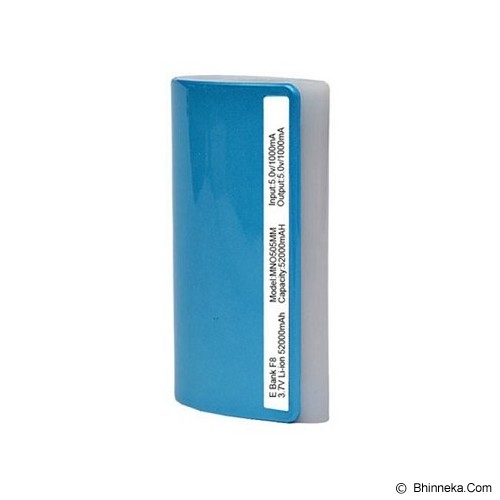 PUWEI Mobile Powerbank 5200mAh [EB-F8] - Blue - Portable Charger / Power Bank
