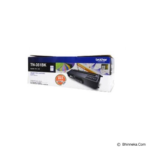 BROTHER Toner Cartridge [TN-351BK] - Toner Printer Brother