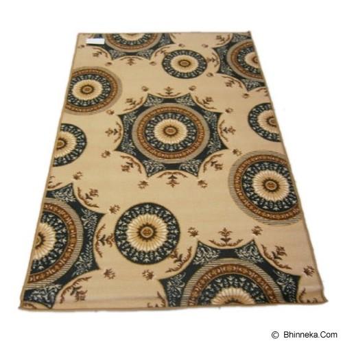 HAO CARPET Karpet [MO-728] - Brown - Karpet Kecil