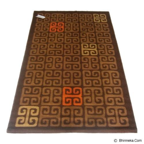HAO CARPET Karpet [MO-710] - Brown - Karpet Kecil