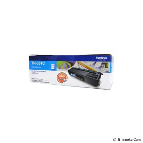 BROTHER Toner Cartridge [TN-351C] - Toner Printer Brother