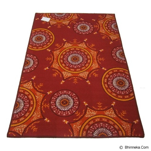 HAO CARPET Karpet [MO-728] - Red - Karpet Kecil