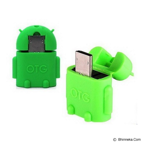 TRENDS USB OTG Android - Green - Cable / Connector Usb