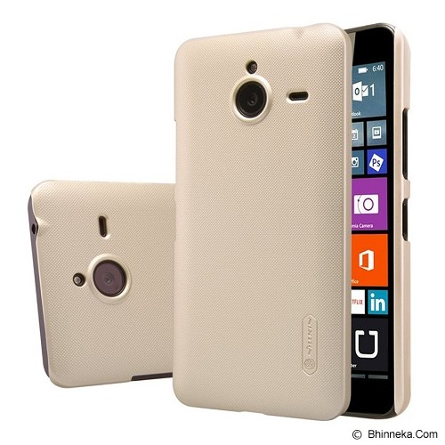 NILLKIN Frosted Shield For Microsoft Lumia 640 XL - Gold - Casing Handphone / Case
