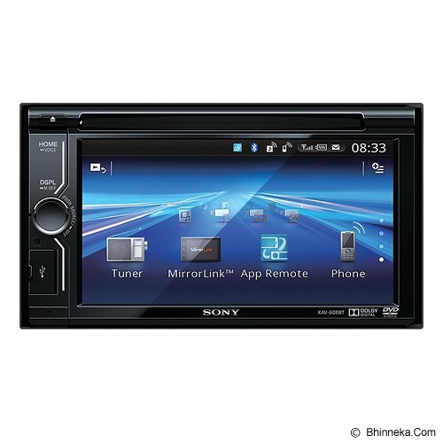 SONY Audio Video Mobil [XAV-602BT] - Audio Video Mobil