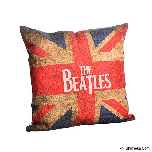 OLC Bantal Sofa Motif The Beatles [Q1042] - Bantal Dekorasi