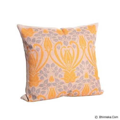 OLC Bantal Sofa Motif Yellow Flower [Q1949] - Bantal Dekorasi