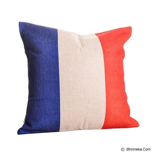 OLC Bantal Sofa Motif French Flag [Q98] - Bantal Dekorasi