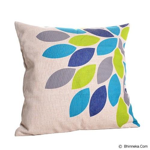 OLC Bantal Sofa Motif Multicolor Leaf [Q1431] - Bantal Dekorasi