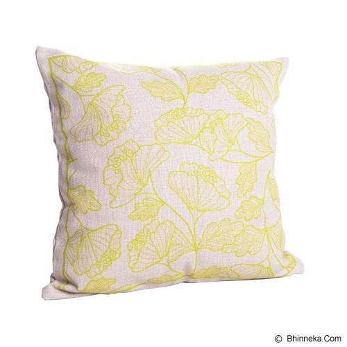 OLC Bantal Sofa Motif Gold Leaf [Q1922] - Bantal Dekorasi