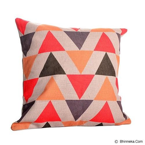 OLC Bantal Sofa Motif Triangel Up Down [Q2416] - Bantal Dekorasi