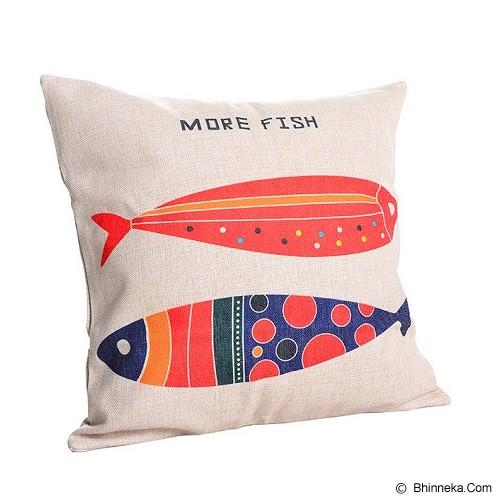 OLC Bantal Sofa Motif More Fish [Q2637] - Bantal Dekorasi