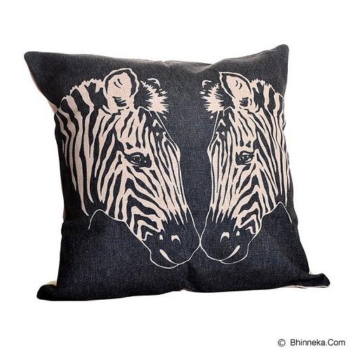 OLC Bantal Sofa Motif Twin Zebra [Q3342] - Bantal Dekorasi