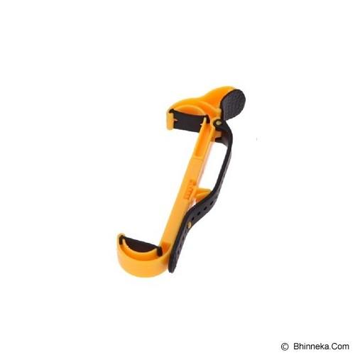 POP HOME Car Steering Wheel HP Holder [B270] - Yellow - Gadget Mounting / Bracket