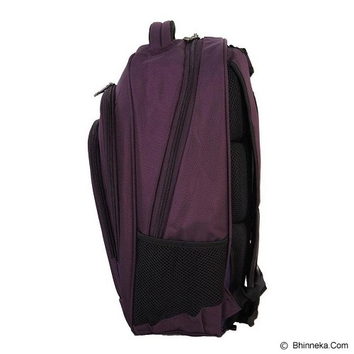REAL POLO Ransel Laptop [5763] - Purple - Notebook Backpack