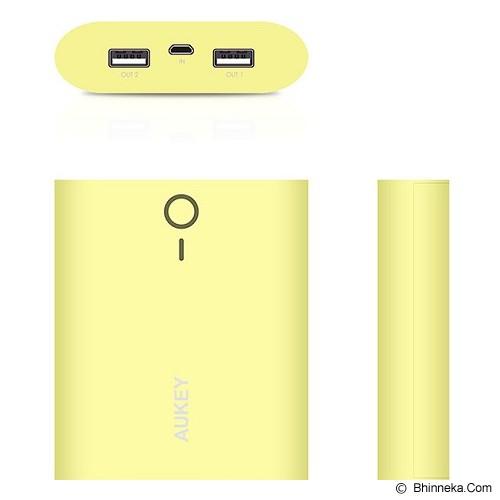 AUKEY Powerbank 10000mAh - Yellow - Portable Charger / Power Bank