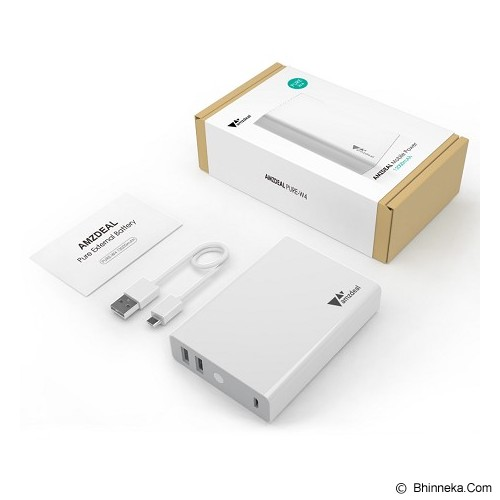 AUKEY Powerbank 12000mAh - White - Portable Charger / Power Bank
