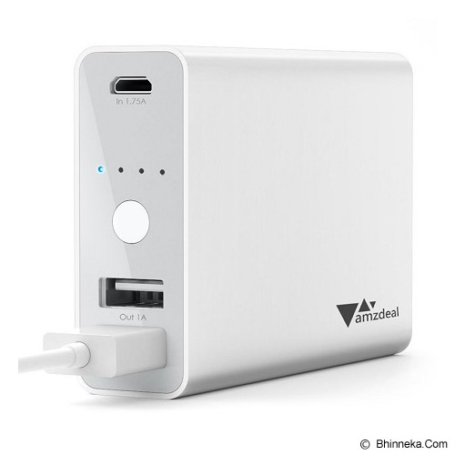 AUKEY Powerbank 9000mAh - White - Portable Charger / Power Bank
