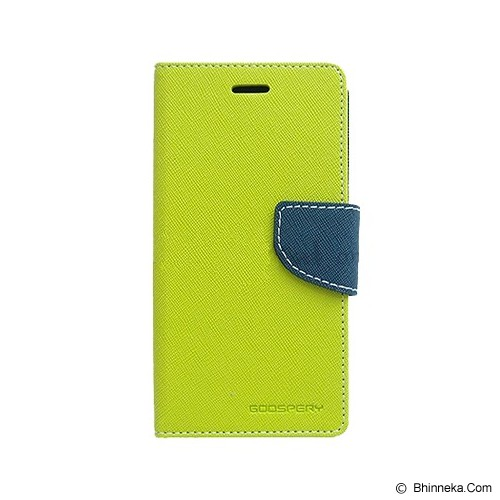 MERCURY GOOSPERY Xiaomi Redmi Note 2 Case - Lime/Navy - Casing Handphone / Case