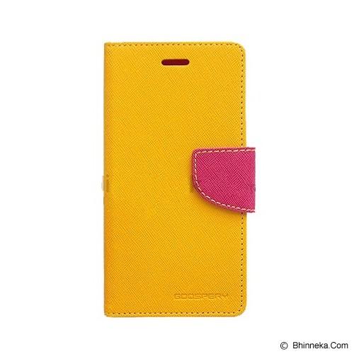 MERCURY GOOSPERY Xiaomi Redmi Note 2 Case - Yellow/Hot Pink - Casing Handphone / Case