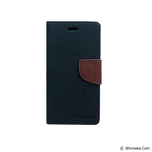 MERCURY GOOSPERY Samsung Galaxy S6 Case - Black/Brown - Casing Handphone / Case