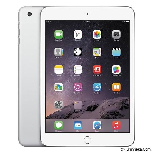 APPLE iPad Mini 3 Retina Display Wifi + Cellular 16GB (Garansi Merchant) - Silver - Tablet Ios