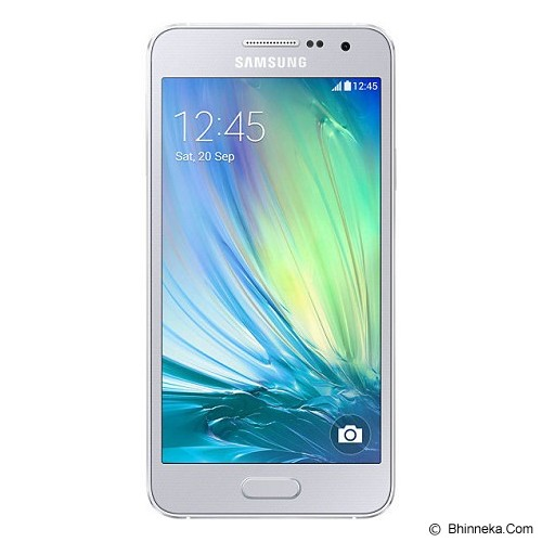 SAMSUNG Galaxy A3 [SM-A300H] - Silver - Smart Phone Android