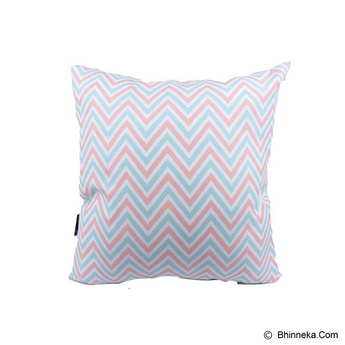 SLEEP BUDDY Cushion - Lollypop Chevron - Bantal Dekorasi