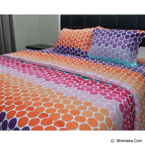 SLEEP BUDDY King Size Selimut Rainbow - Polka - Seprai & Handuk