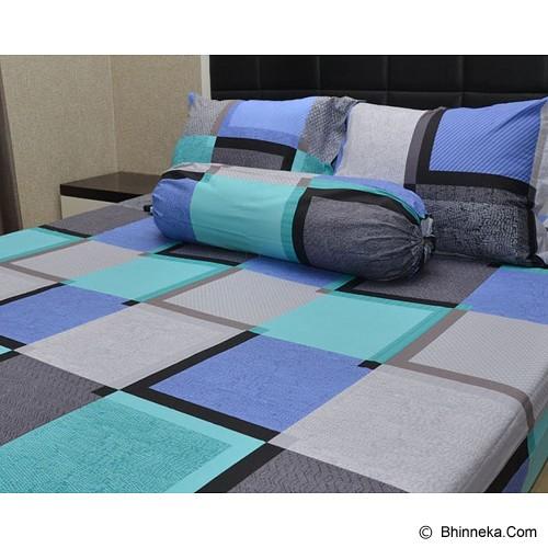 SLEEP BUDDY Queen Size Bed Sheet Katun Quadratic - Kasur