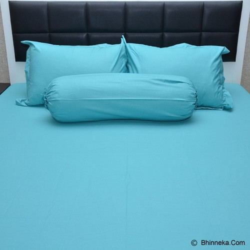SLEEP BUDDY Queen Size Bed Sheet Plain - Tosca - Kasur