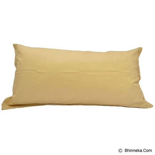 SLEEP BUDDY Sarung Bantal 50 x 100 Cm  - Gold - Sarung Bantal