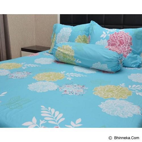 SLEEP BUDDY Single Size Bed Sheet Katun Morning - Kasur