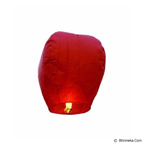 SLI Lampion Terbang - Red - Lampu Gantung