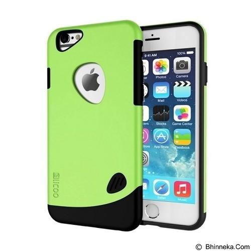 SLICOO Hardcase Tough Armor Ultra Thin Apple iPhone 6/6s - Green (Merchant) - Casing Handphone / Case