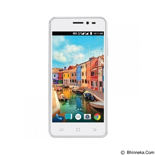 SMARTFREN Andromax A (Kuota 65GB & Pulsa Rp 60.000) - White (Merchant) - Smart Phone Android