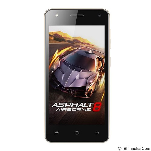 SMARTFREN Andromax E2+ (Merchant) - Black - Smart Phone Android