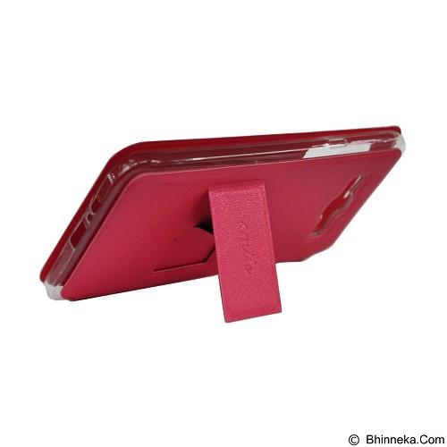 SMILE Flip Cover Case Lenovo A6000 / A6000 Plus - Hot Pink (Merchant) - Casing Handphone / Case