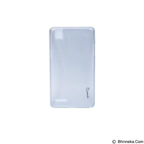 SMILE Hard Case Crystal Oppo F1 - Black (Merchant) - Casing Handphone / Case