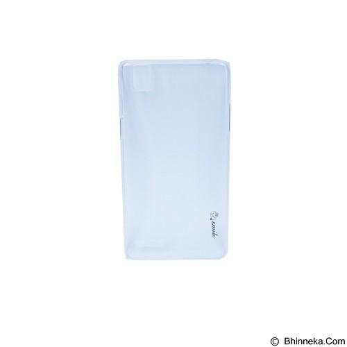 SMILE Hard Case Crystal Oppo F1 - Clear (Merchant) - Casing Handphone / Case