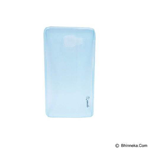 SMILE Hard Case Crystal Samsung Galaxy A7/A710 2016 - Blue Lighting (Merchant) - Casing Handphone / Case