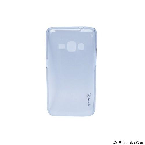 SMILE Hard Case Crystal Samsung Galaxy J1 2016/J120 - Black (Merchant) - Casing Handphone / Case