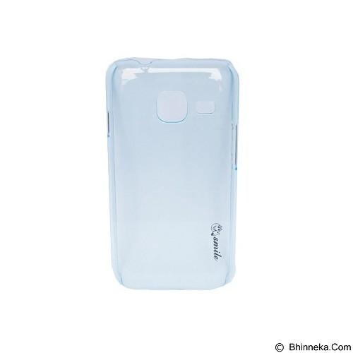 SMILE Hard Case Crystal Samsung Galaxy J1 Mini/J105 - Blue Light (Merchant) - Casing Handphone / Case
