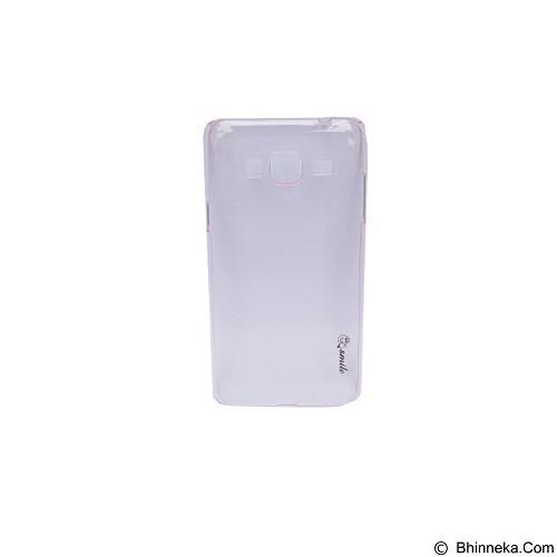SMILE Hard Case Crystal Samsung Galaxy J3 2016/J320 - Pink Light (Merchant) - Casing Handphone / Case