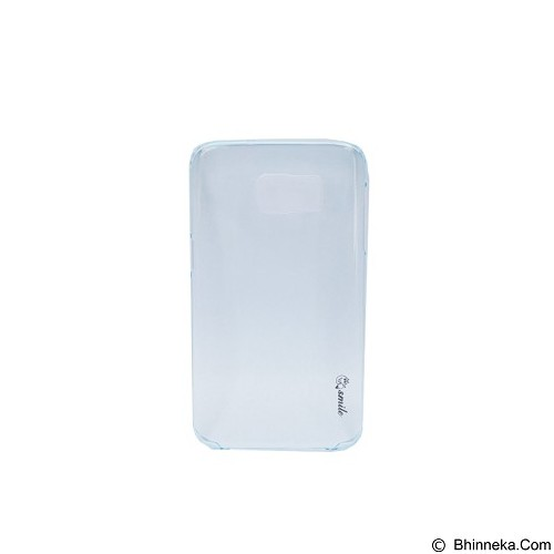 SMILE Hard Case Crystal Samsung Galaxy S7 Edge - Blue Light (Merchant) - Casing Handphone / Case