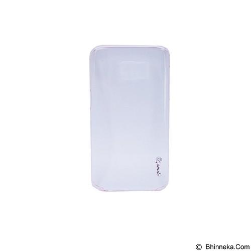 SMILE Hard Case Crystal Samsung Galaxy S7 Edge - Pink Light (Merchant) - Casing Handphone / Case