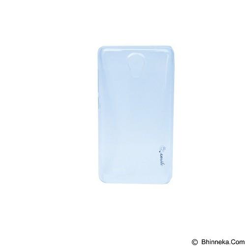 SMILE Hard Case Crystal Vivo Y21 / Y21 - Clear (Merchant) - Casing Handphone / Case