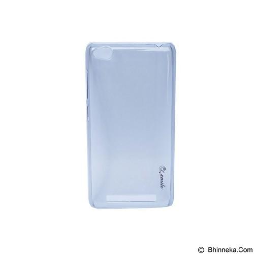 SMILE Hard Case Crystal Xiaomi Redmi 3/Redmi 3S - Black (Merchant) - Casing Handphone / Case