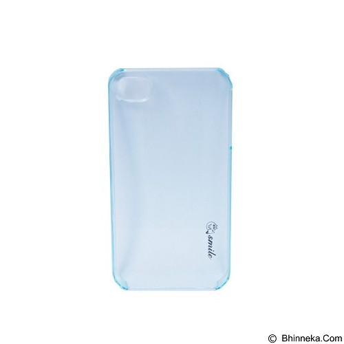 SMILE Hard Case Crystal iPhone 4/4S - Blue Lighting (Merchant) - Casing Handphone / Case