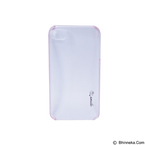SMILE Hard Case Crystal iPhone 4/4S - Pink Lighting (Merchant) - Casing Handphone / Case